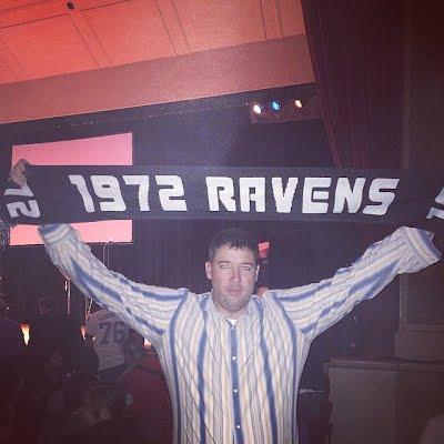 1972 Ravens scarf